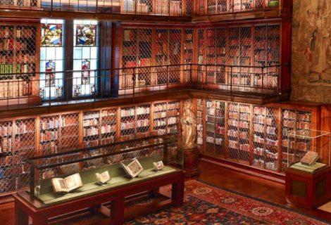 Digitális könyvkultúra: a Morgan Könyvtár és Múzeum az Interneten