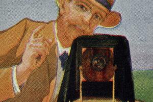 A fényképezés története bélyegeken