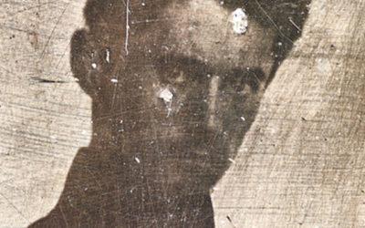 Digitization of Petőfi-daguerreotype