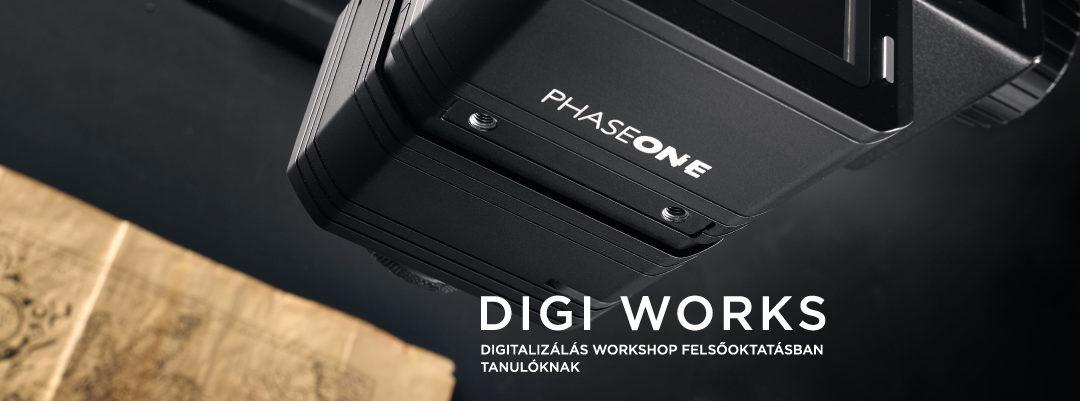 Digi Works – Digitalizálás workshop felsőoktatásban tanulóknak